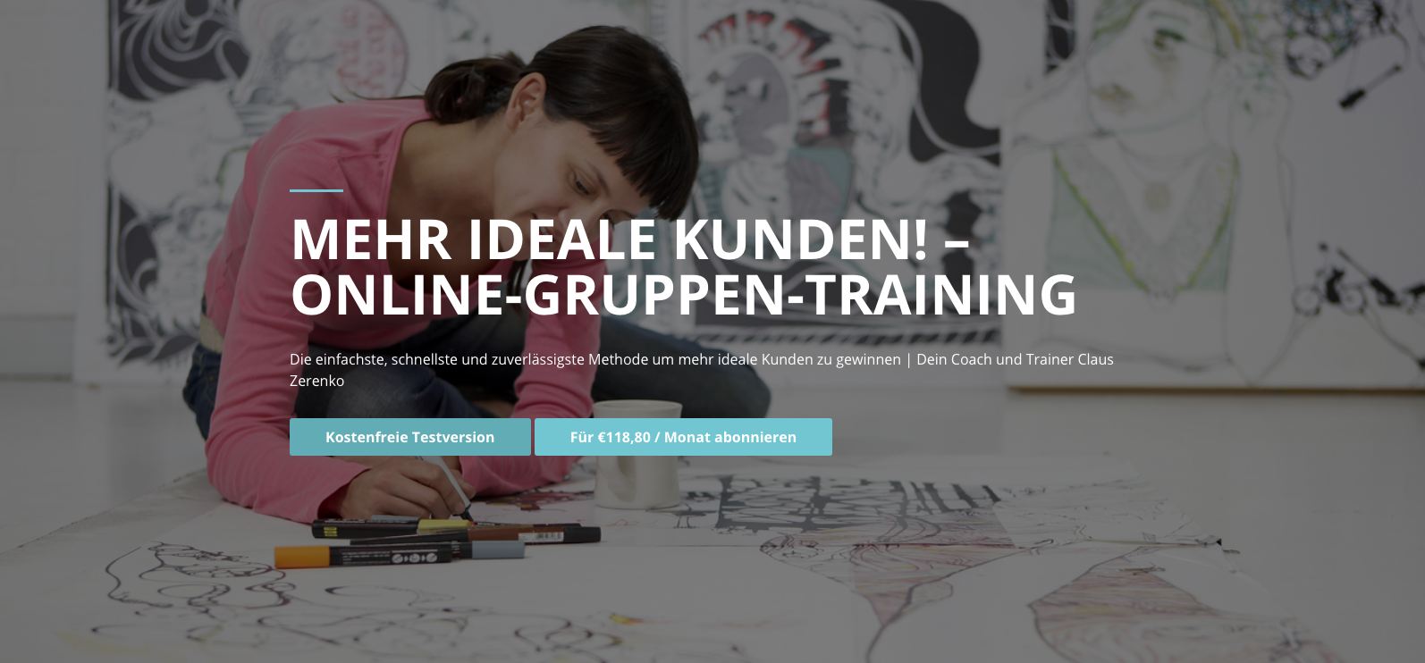 Online-Gruppen-Training